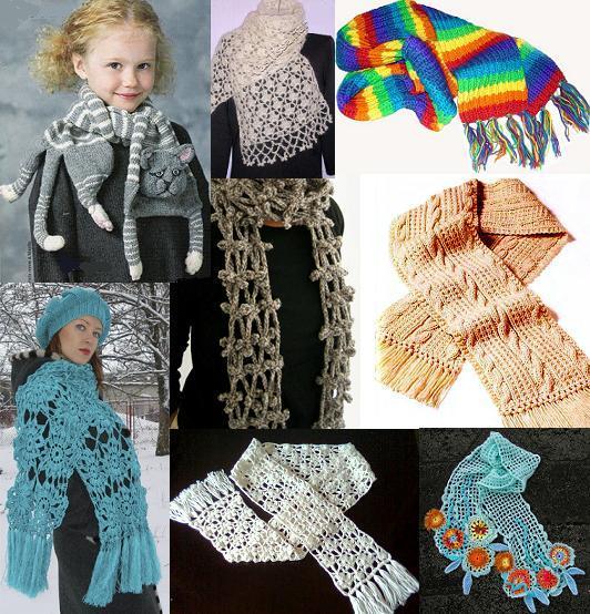 Шапки и шарфы вязаные рукодельницами уже давно не только.